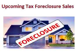 Foreclosure Sale is very possible!