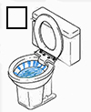 Toilet is constantly running water into bowl -or- cycling for no reason...